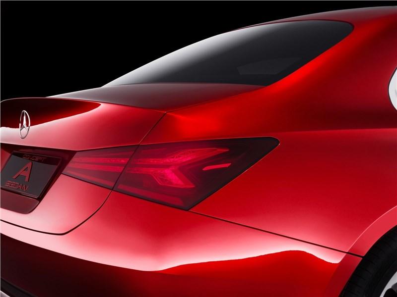 Mercedes-Benz A Sedan Concept 2017 задний фонарь