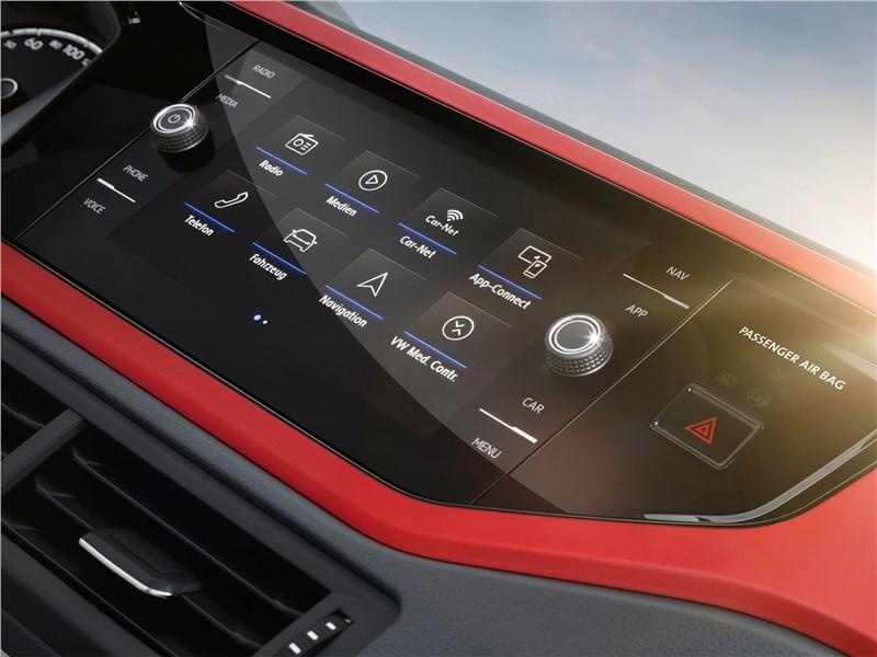 Volkswagen Polo 2018 монитор