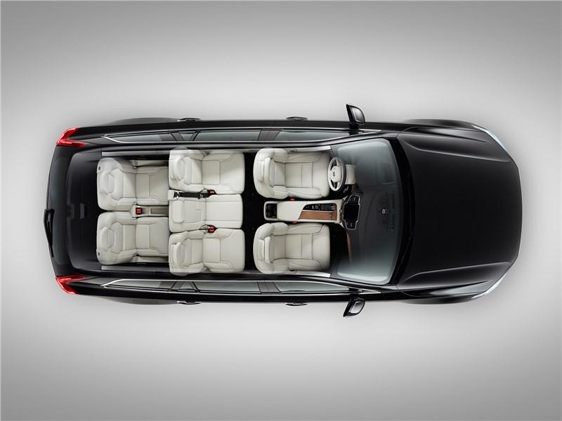 Volvo XC90 2015 салон