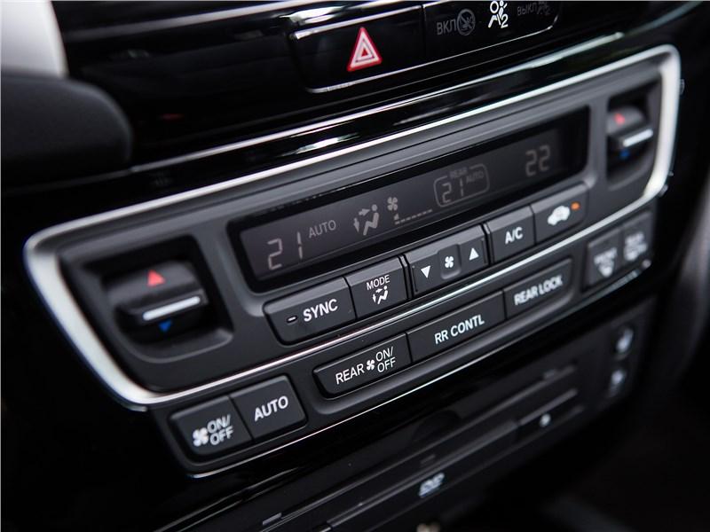 Honda Pilot 2016 климатическая установка