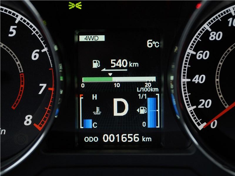Mitsubishi ASX 2017 приборная панель