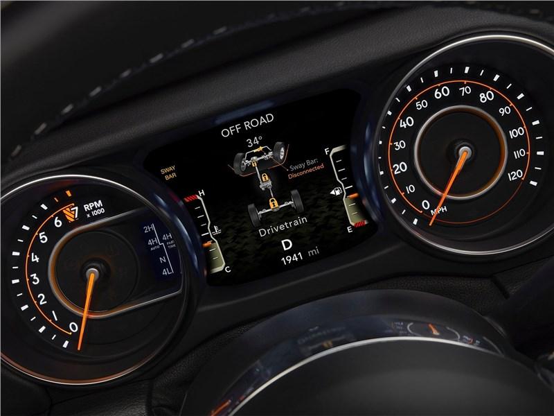 Jeep Wrangler Unlimited 2018 приборная панель