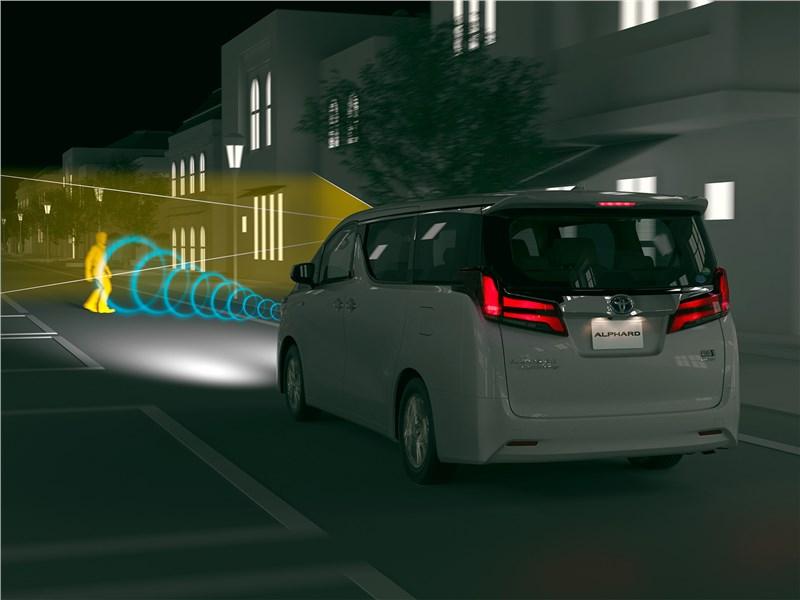 Toyota Alphard 2018 система безопасности