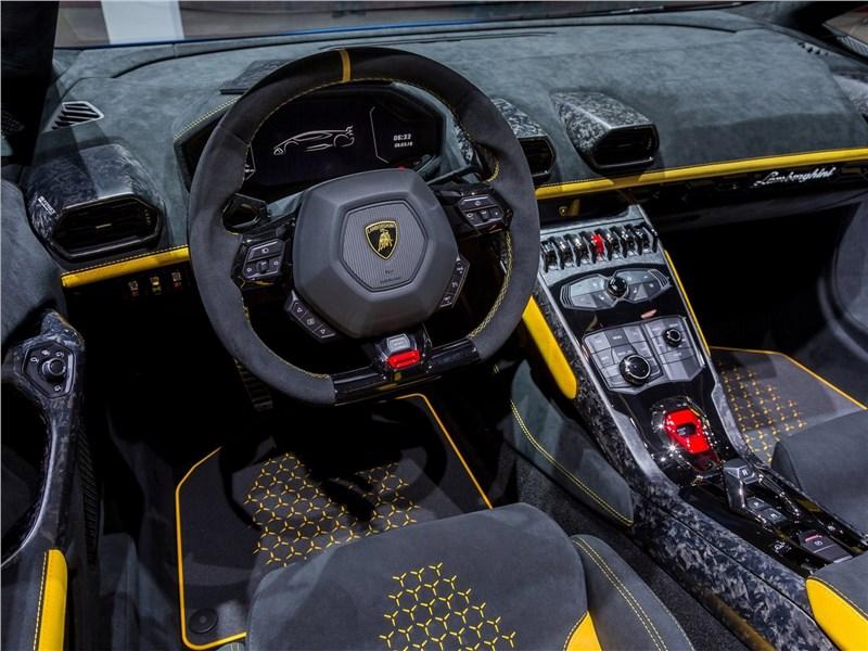 Lamborghini Huracan Performante Spyder 2019 салон