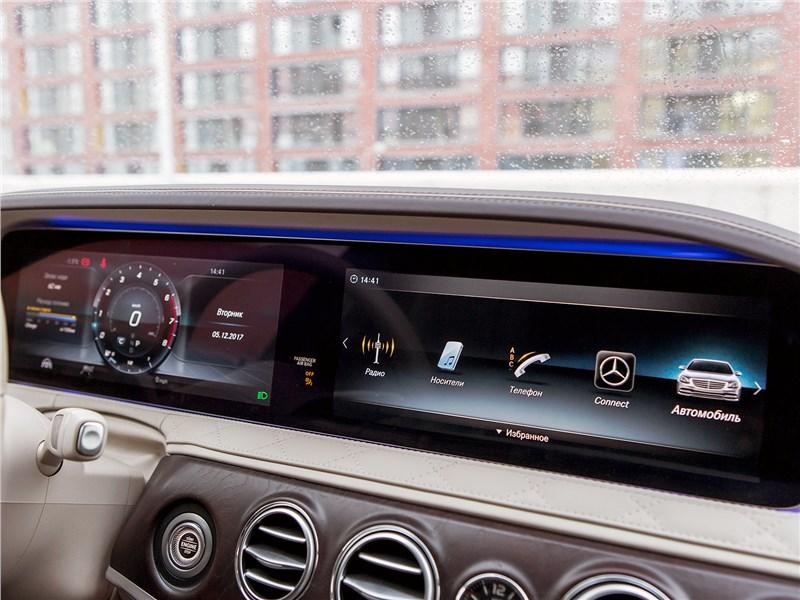 Mercedes-Maybach S 450 4Matic 2018 передняя панель