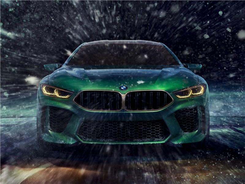 BMW M8 Gran Coupe Concept 2018 вид спереди