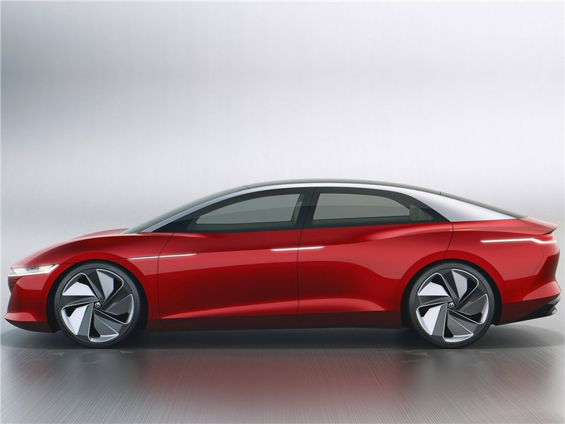 Volkswagen ID Vizzion Concept 2018 вид сбоку