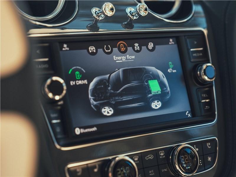 Bentley Bentayga Hybrid 2019 центральная консоль