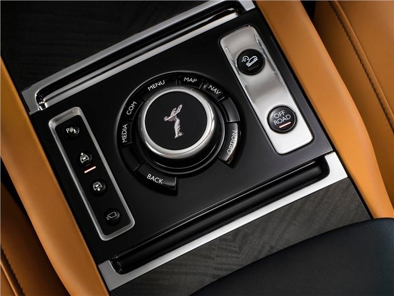 Rolls-Royce Cullinan 2019 кнопки управления