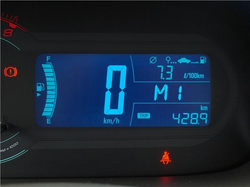 Ravon R4 2016 приборная панель