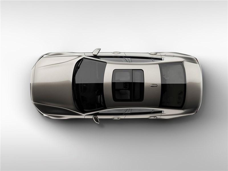 Volvo S60 2019 вид сверху