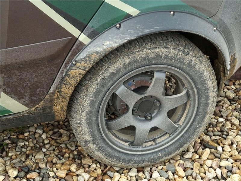 Datsun mi-Do 2018 заднее колесо