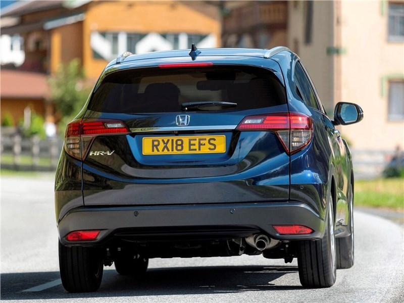 Honda HR-V 2019 вид сзади