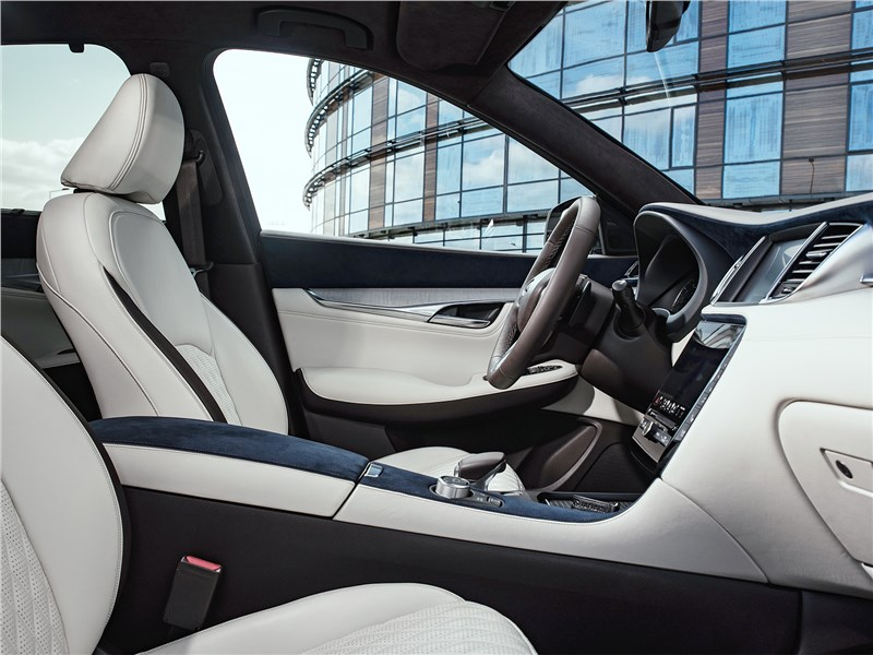 Infiniti QX50 2019 передние кресла