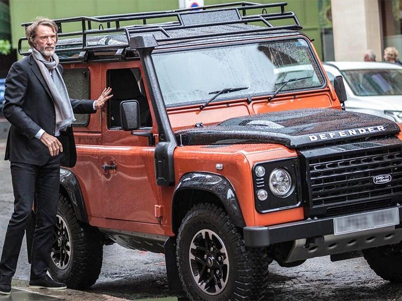 Классический Land Rover Defender вернется под маской Ford Фото Авто Коломна