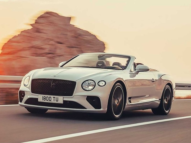 Представлен новый Bentley Continental GT Convertible Фото Авто Коломна