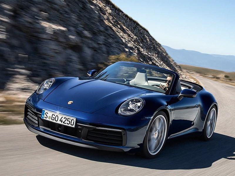Porsche выводит на российский рынок кабриолет