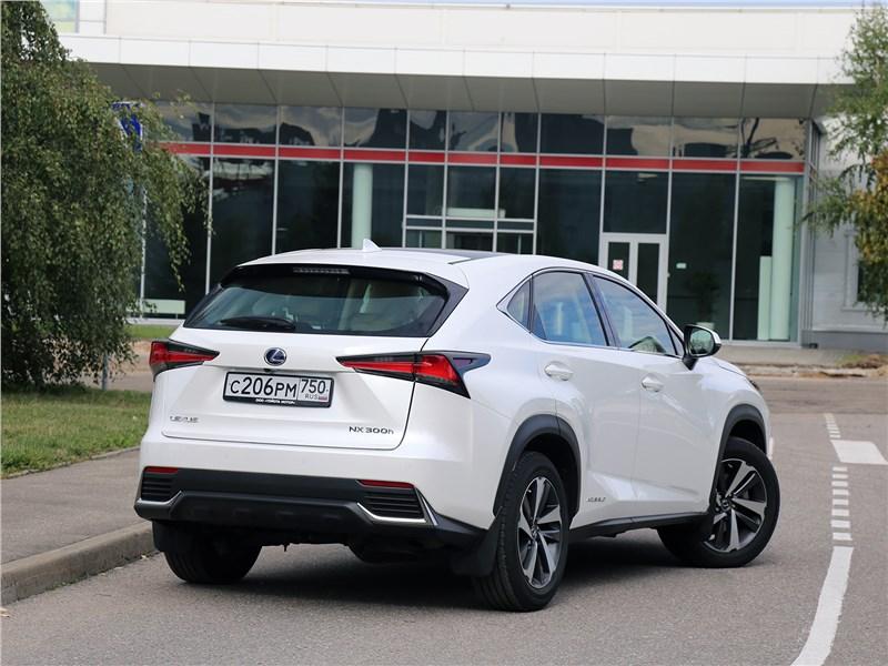 Lexus NX 2018 NX 300H вид сзади