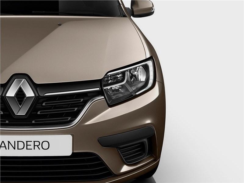 Renault Sandero 2018 передняя фара