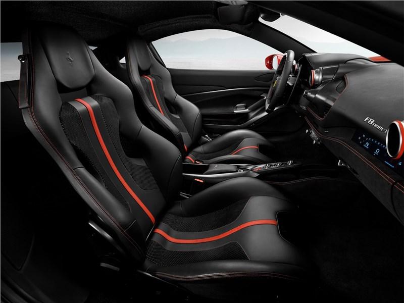 Ferrari F8 Tributo 2020 кресла