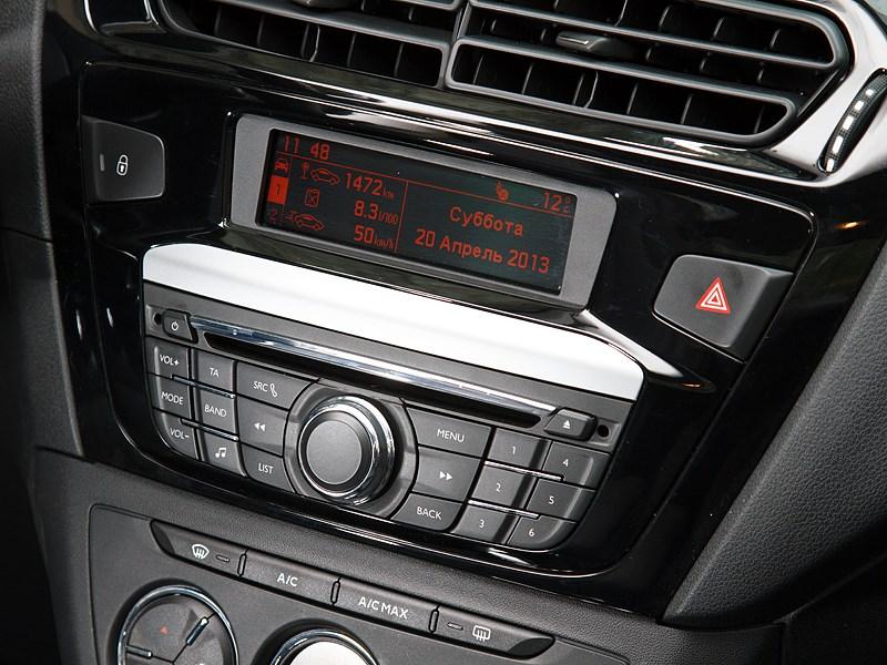 Peugeot 301 2013 центральная консоль
