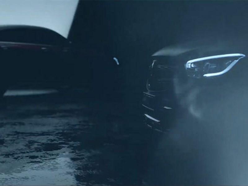 Mercedes-Benz показал тизер обновленного GLC Coupe