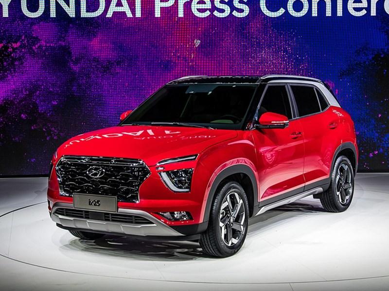 Hyundai показал новое поколение кроссовера ix25 Фото Авто Коломна