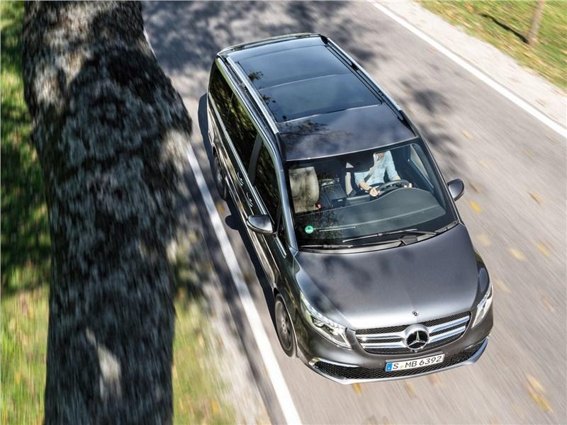 Mercedes-Benz V-Klasse 2020 вид сверху