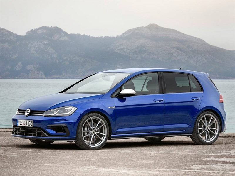 Новый VW Golf R: больше мощности Фото Авто Коломна