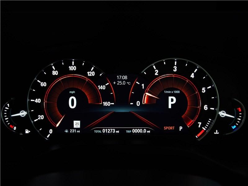 BMW X4 2019 приборная панель