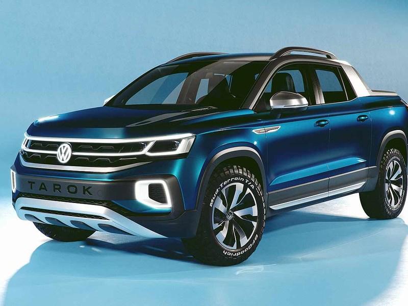 VW готовится запустить в серию новый пикап