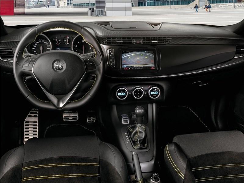 Alfa Romeo Giulietta 2019 салон
