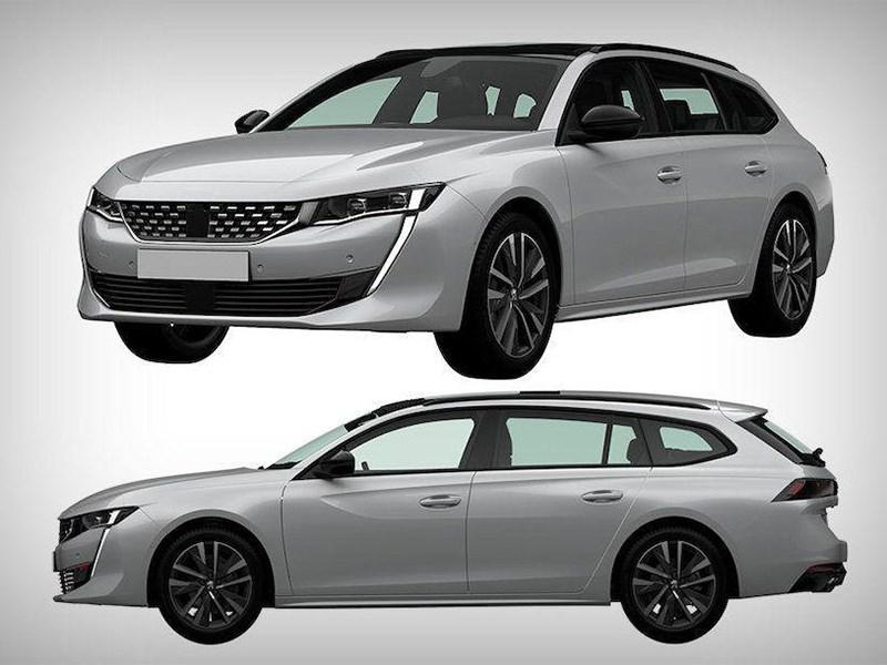 Peugeot запатентовал в Росиии новый универсал Фото Авто Коломна