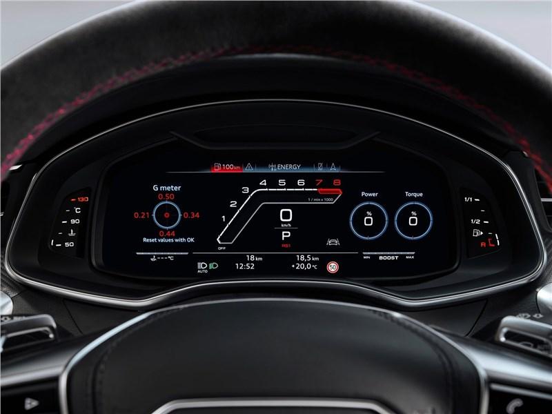 Audi RS7 Sportback 2020 приборная панель