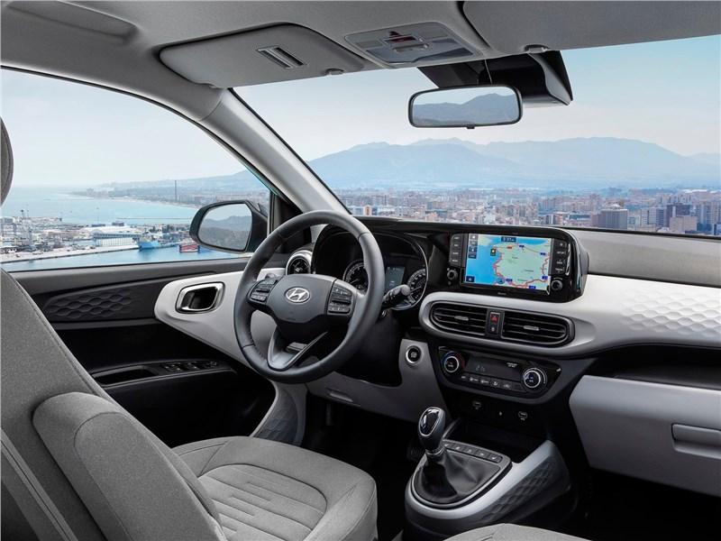 Hyundai i10 2020 салон