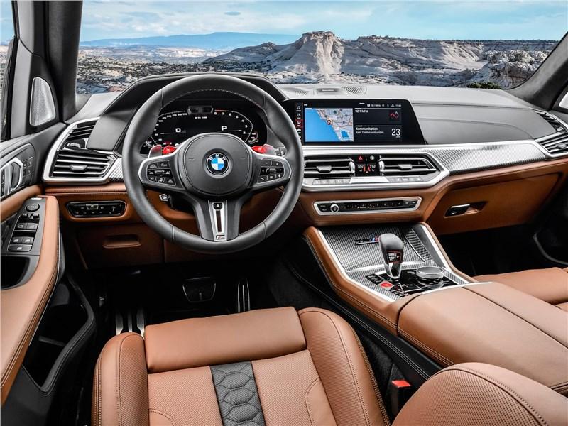 BMW X5 M 2020 салон