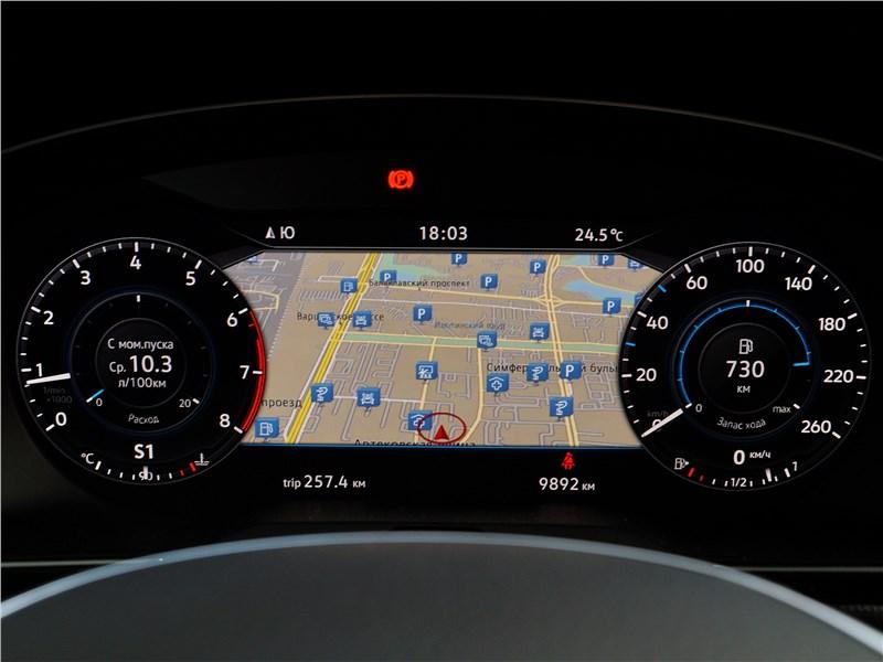 Volkswagen Passat 2015 приборная панель