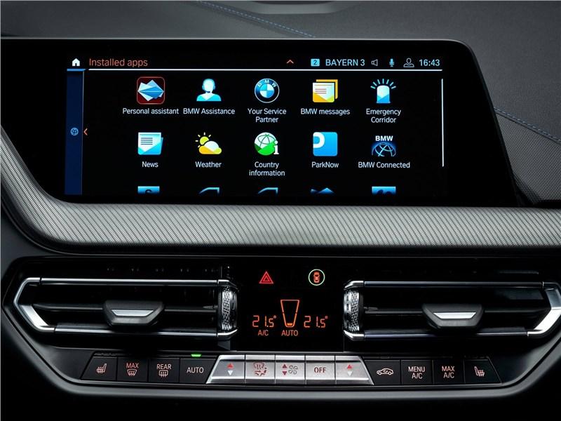 BMW 2-Series Gran Coupe 2020 центральная консоль