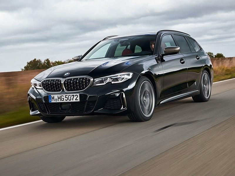 BMW представила мощный универсал M340i xDrive Touring
