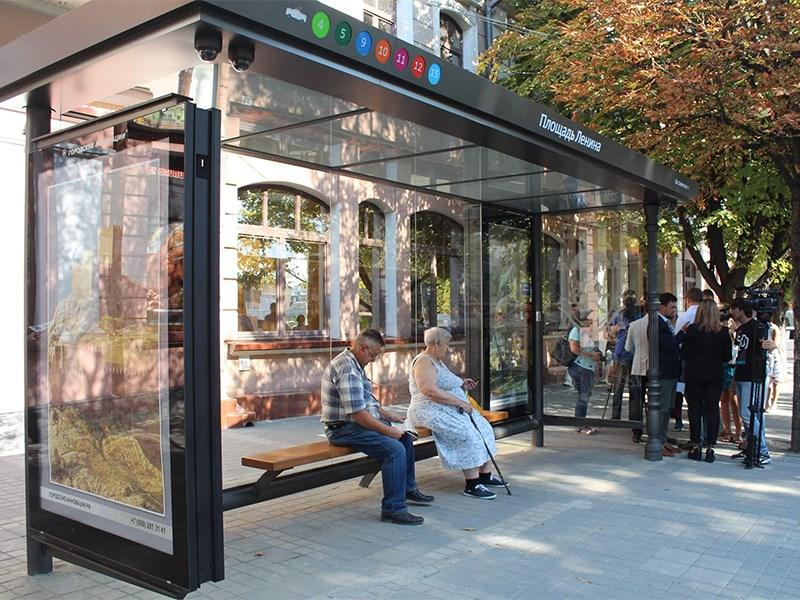 В России появятся умные автобусные остановки