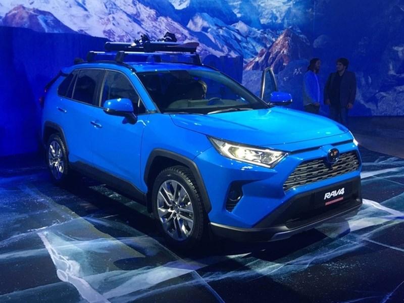 В Москве прошла официальная презентация нового Toyota RAV4