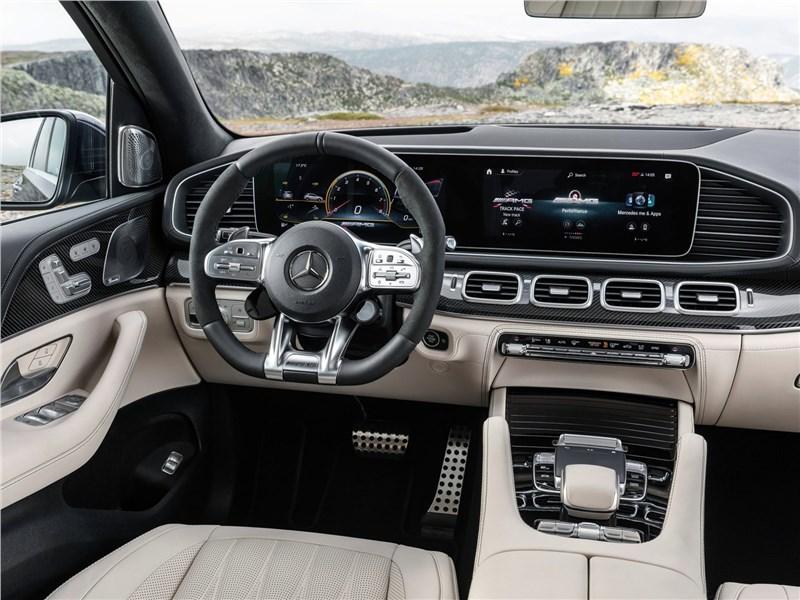 Mercedes-Benz GLE63 S AMG 2021 салон