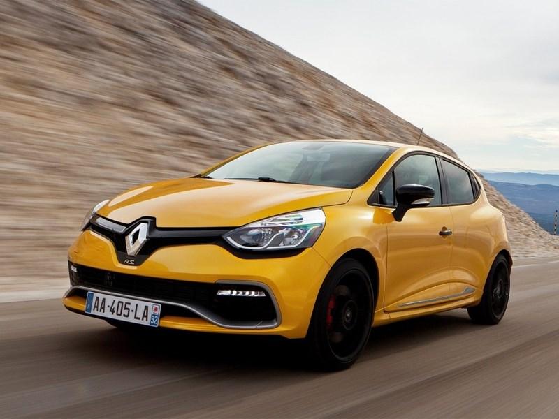 В Россию приедет сверхмощный хэтчбек Renault Clio RS четвертого поколения