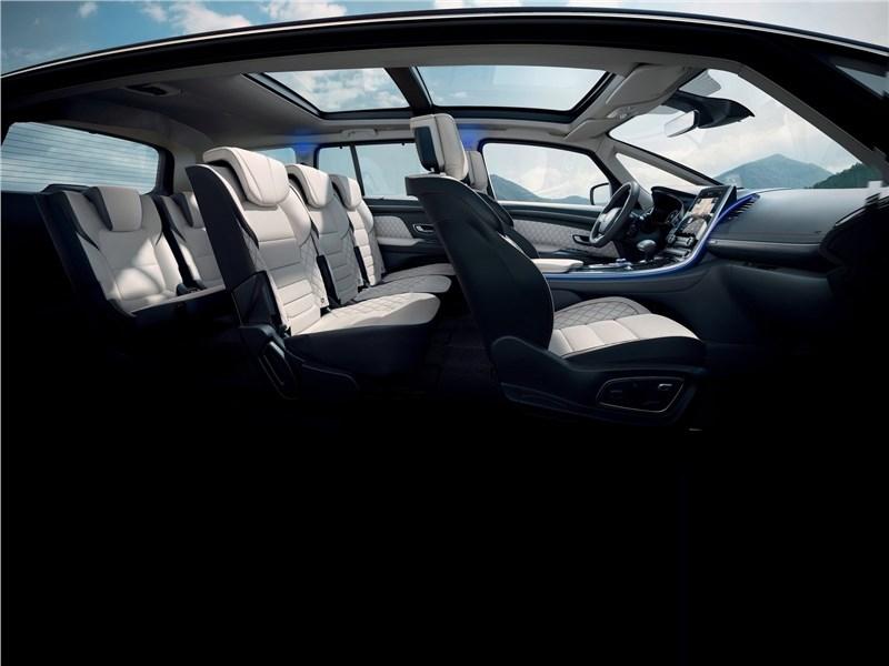 Renault Espace 2020 салон