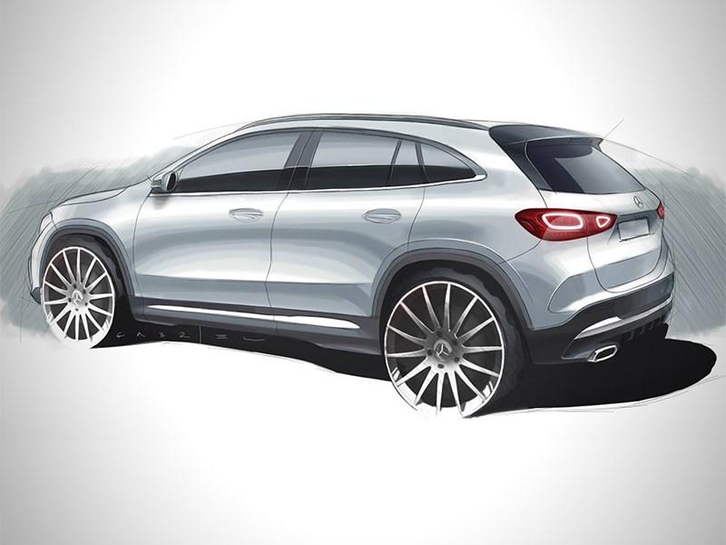 Mercedes явил миру дизайн нового GLA