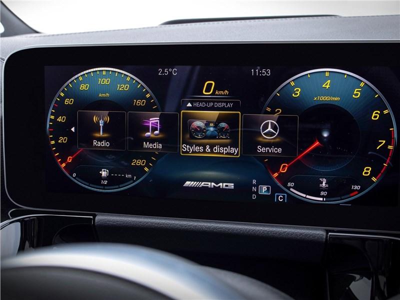 Mercedes-Benz GLA 2021 приборная панель
