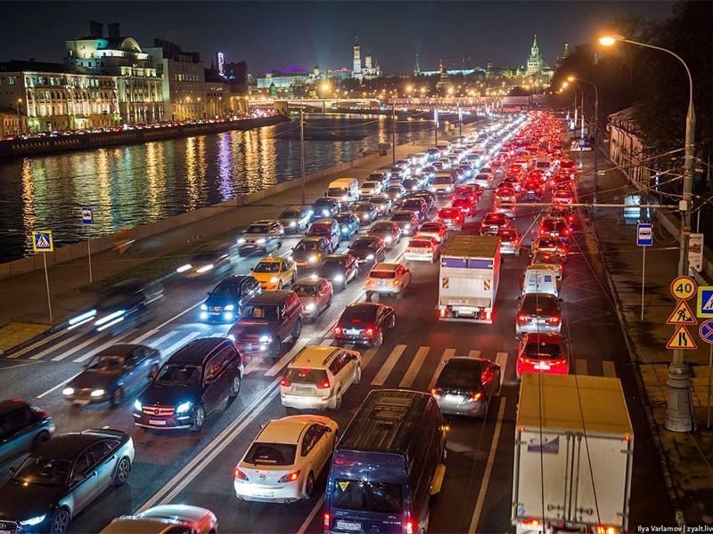 Власти Москвы предрекают дорожный коллапс Фото Авто Коломна