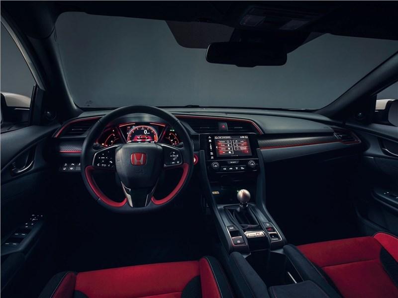 Honda Civic Type R 2018 салон