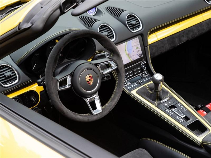 Porsche 718 Spyder 2020 водительское место