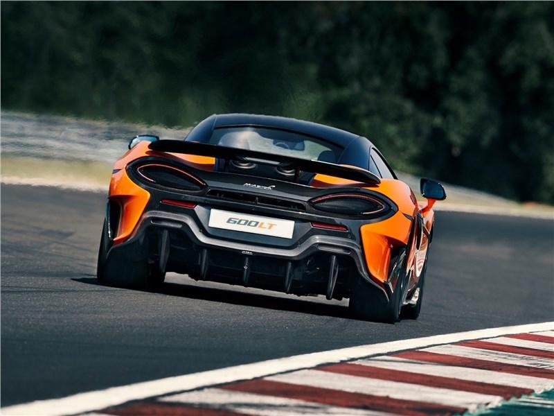 McLaren 600LT 2019 вид сзади